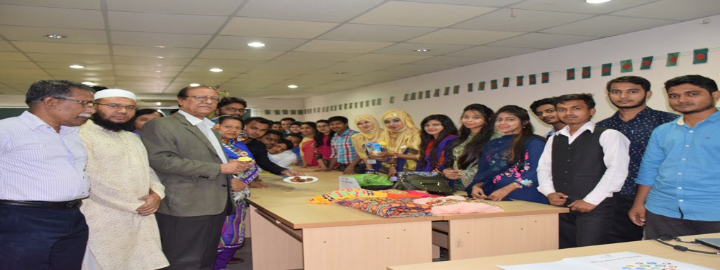 Students with Secretary General, Member (DCCI), Faculty at DBI College